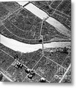Atomic Bomb Destruction, Hiroshima Metal Print