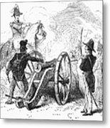 Battle Of Buena Vista Metal Print