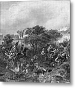 Battle Of Monmouth, 1778 Metal Print