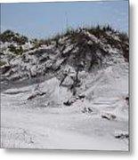 Beach Sand Dunes Metal Print