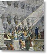 Belshazzars Feast Metal Print