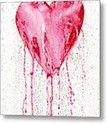 Bleeding Heart Metal Print