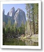 3 Brothers. Yosemite Metal Print