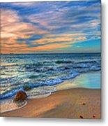 Burns Beach Wa Metal Print by Imagevixen Photography