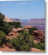By The Canyon Metal Print