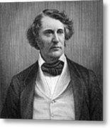 Charles Sumner (1811-1874) Metal Print by Granger