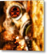Chemical Warfare Metal Print