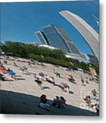 Chicago City Scenes Metal Print