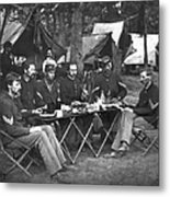 Civil War Soldiers Metal Print