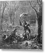 Civil War: Wounded Metal Print