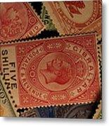 Closeup Of Classic British Empire Metal Print