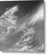 Cloud Imagery Metal Print