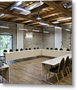 Conference Room Metal Print by Jaak Nilson