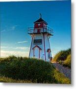 Cove Head Lighthouse Metal Print