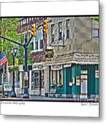 Downtown Willoughby Metal Print