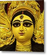 Durga Goddess 2012 Metal Print by Rajan Advani
