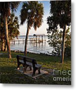 Evening On The Indian River Lagoon Metal Print