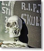 Fall  Halloween On Tillson Street Metal Print