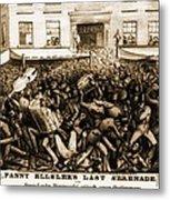 Fanny Elssler 1810-1884, Austrian Metal Print by Everett
