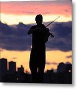 Fiddler On The Roof Metal Print by Nina Mirhabibi