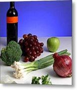Foods Rich In Quercetin Metal Print