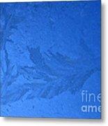 Frost On A Windowpane Metal Print