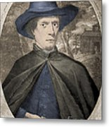 Fr�re Jacques Beaulieu, French Metal Print