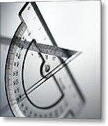Geometry Set Metal Print
