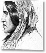 George Eliot (1819-1880) Metal Print