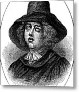 George Fox (1624-1691) Metal Print