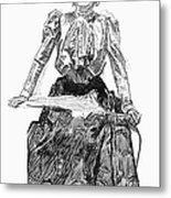 Gibson Girl, 1899 Metal Print