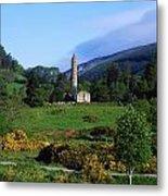 Glendalough, Co Wicklow, Ireland Metal Print