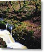 Glenmacnass Waterfall, Co Wicklow Metal Print