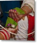 Hindu Wedding Ceremony Metal Print