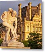 Jardin Des Tuileries Metal Print