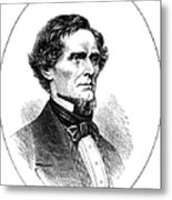 Jefferson Davis (1808-1889) Metal Print