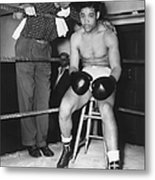 Joe Louis (1914-1981) Metal Print
