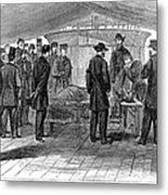 John Wilkes Booth Metal Print
