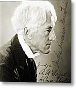 Kenesaw Mountain Landis Metal Print