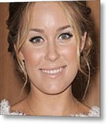 Lauren Conrad At In-store Appearance Metal Print by Everett
