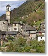 Lavertezzo - Ticino Metal Print