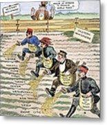 League Of Nations Cartoon Metal Print by Granger