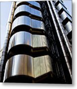 Lloyds Building Central London  Metal Print