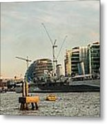 London Skyline Sunset Metal Print