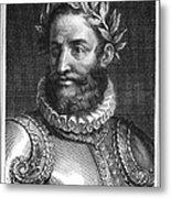 Luiz Vaz De Camoes (1524-1580) Metal Print