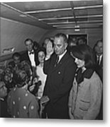 Lyndon Baines Johnson Metal Print