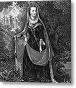 Mary Queen Of Scots Metal Print