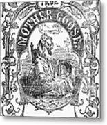 Mother Goose, 1833 Metal Print