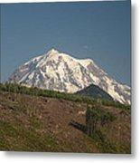 Mt Rainier Metal Print
