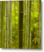 Mystical Bamboo Metal Print